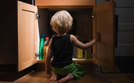 Keep Household Cleaners Away From Baby Health For Toddlers